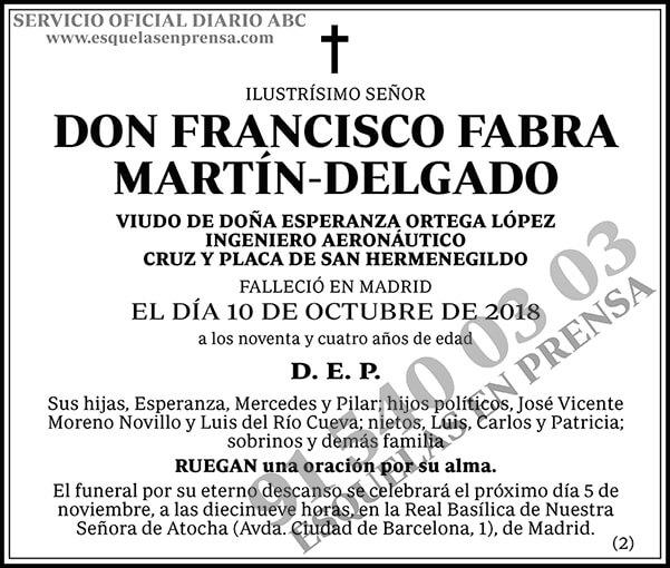 Francisco Fabra Martín-Delgado